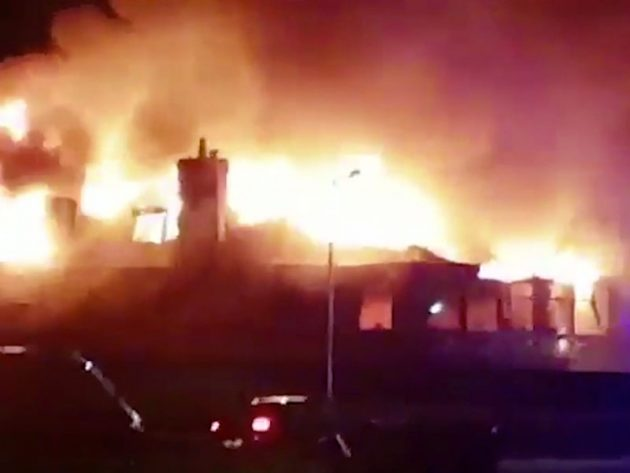 Machrihanish fire: GC Clubhouse Completely Destroyed