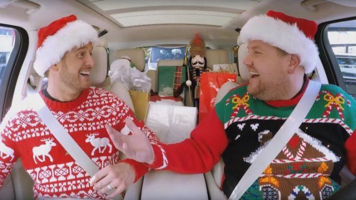 Michael Buble Christmas Carpool karaoke (Watch)