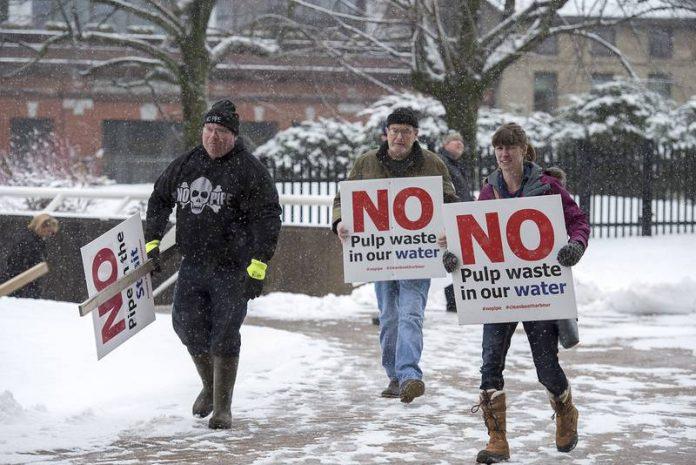 Northern Pulp mill wins injunction to stop fishermen's blockade