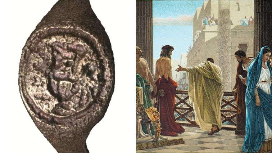 Pontius Pilate ring discovered in Bethlehem