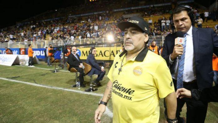 Diego Maradona hospitalised in Buenos Aires, Report