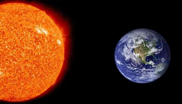 Earth at its closest point to sun tonight (Reports)