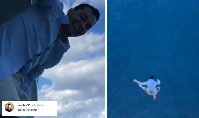 Man Banned for life after jumping from cruise ship, Report