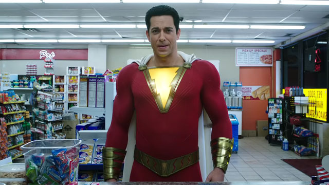 Shazam new trailer Showcases The Movie's