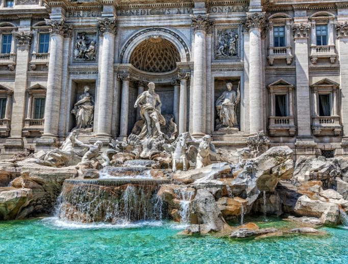 Trevi Fountain coins: Caritas Rome has been the beneficiary of the coins