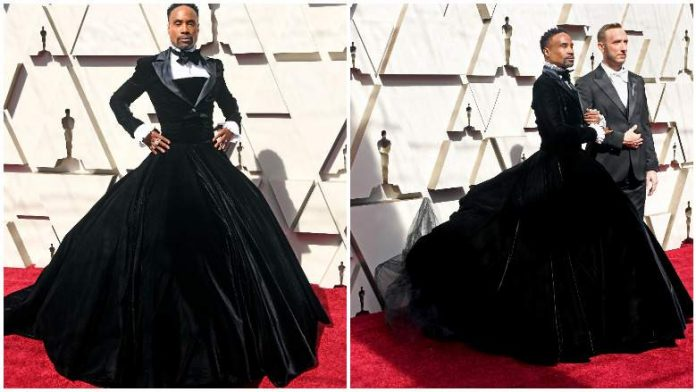 Billy Porter wore a tuxedo and a dress (Photo)