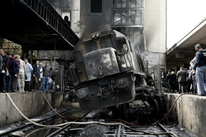 Cairo train station fire: At least 25 dead and dozens injured