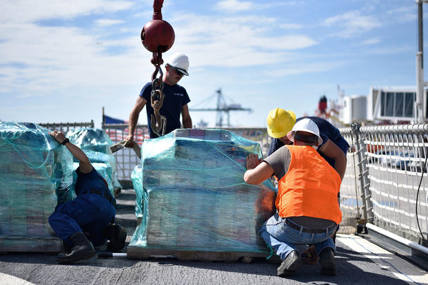 Cocaine seized in Pacific conducted by six Coast Guard crews