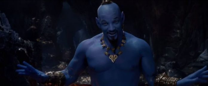 Disney Aladdin first look during the 2019 Grammy Awards