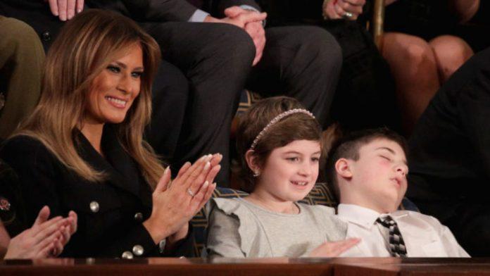Joshua Trump hailed a hero for falling asleep (Photo)