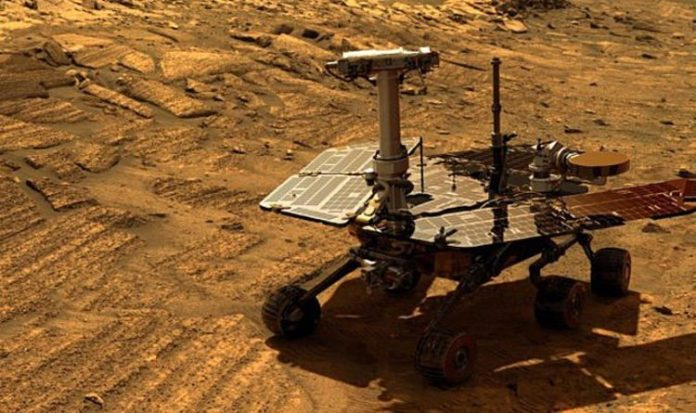 Mars Rover Opportunity's fina message before it died