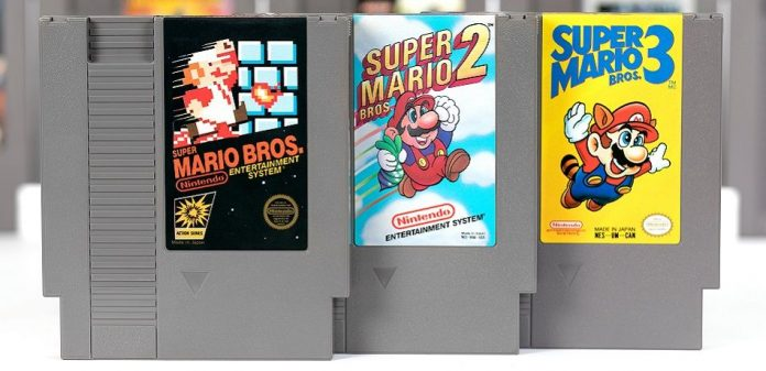 Mint copy of Super Mario Bros. sold at auction for $100150