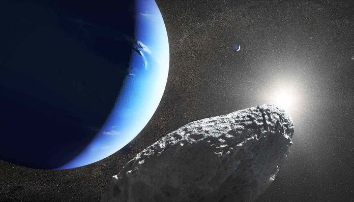 Neptune's New Moon Hippocamp Is A Piece From A Larger Moon, Report
