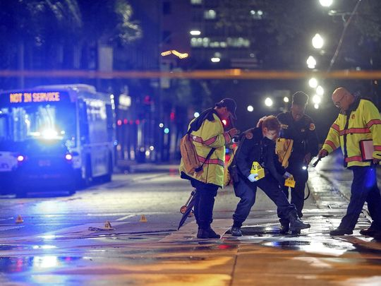 New Orleans Shootout: Five bystanders wounded while waiting for bus, suspect dead