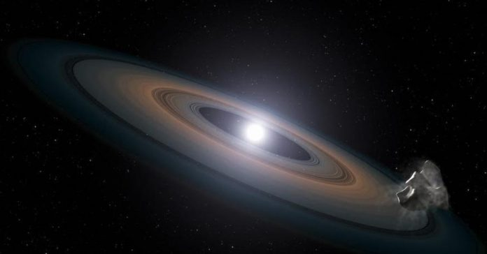 Researchers Discovers Oldest White Dwarf Star With Puzzling Rings