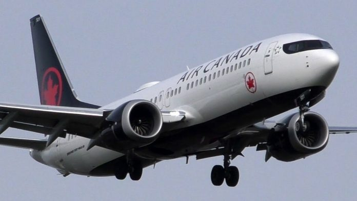 Air Canada cancels Boeing 737 MAX 8 Flights (Reports)