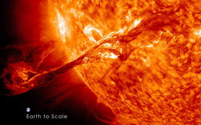 Ancient solar storm that could wipe out Earth's satellites and electronics