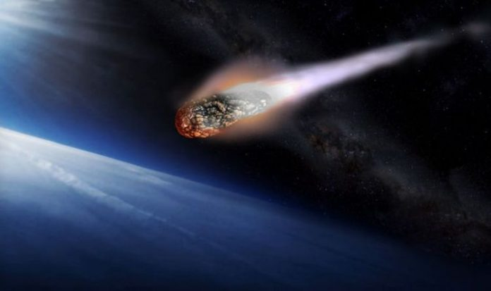 Asteroid near Earth Friday, occur at 4.19pm GMT