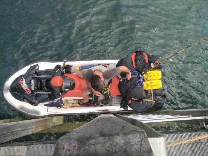 Australia jet ski escape: 150 kilometre chase across the Torres Strait