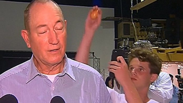 "Egg Boy Will Connolly Tells 'The Project' The Egg Has ""United People"" (Reports)"