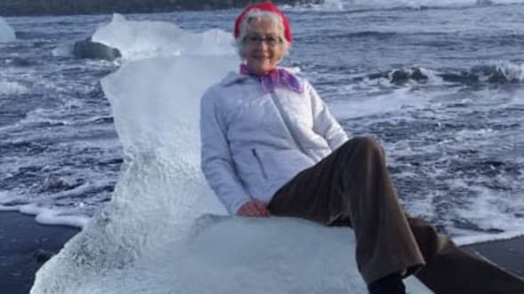 Grandma swept out to sea in Iceland and had to be rescued