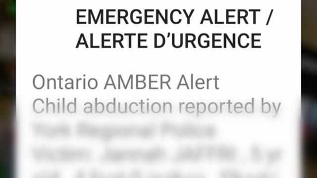 Police reveal details of Amber Alert complaints made to 911 (Reports)