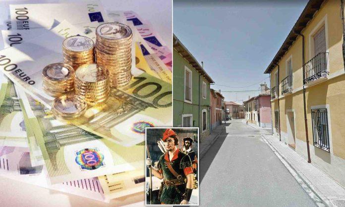 Spanish Village: Anonymous donor leave cash envelopes