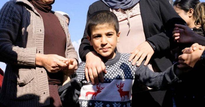 Yazidi, families reunite after five years
