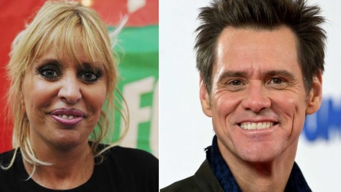 Alessandra Mussolini is feuding with Jim Carrey (Reports)