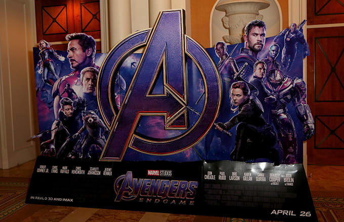 Avengers Endgame opening night tickets in ebay (Reports)