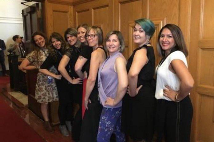 B.C. sleeveless dresses are OK (Photo)