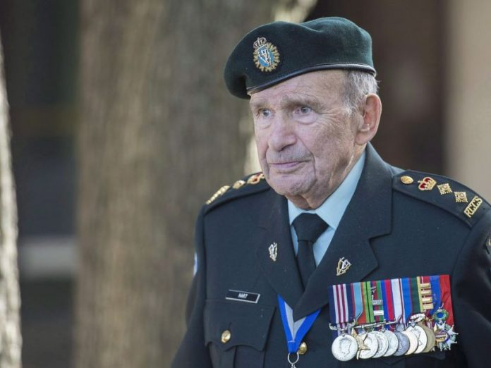 Col. David Lloyd Hart, who served in Dieppe, dies at 101
