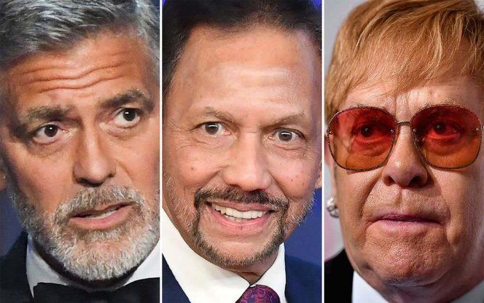 Elton John Joins Clooney Boycott of Brunei-Owned Hotels, Report