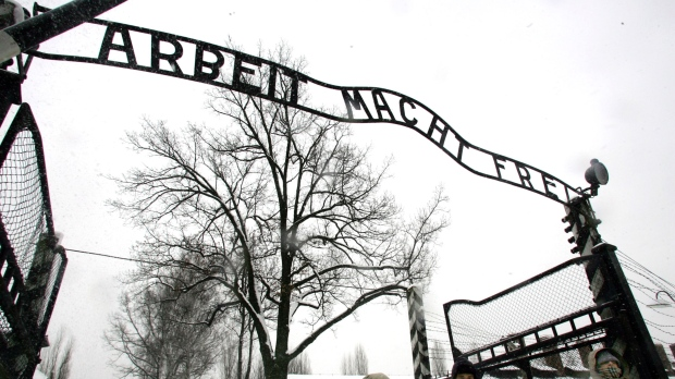 Man Charged of trying to steal from Auschwitz