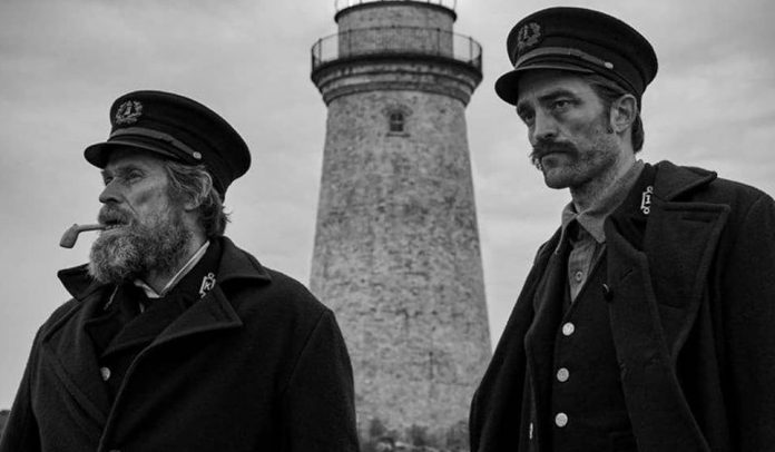 The Lighthouse first look: Willem Dafoe and Robert Pattinson Star in B&W Fantasy-Horror