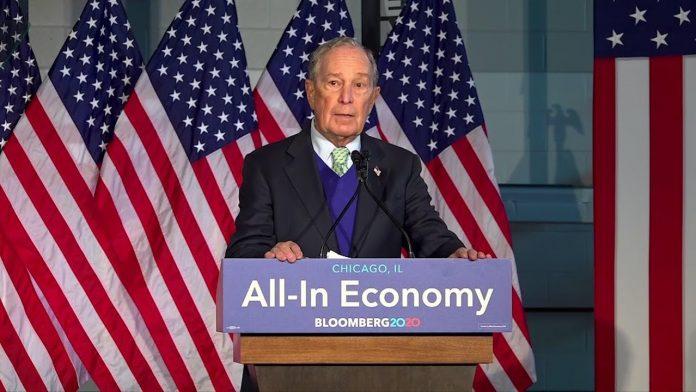 Bloomberg Unveils Economic Plan to create jobs