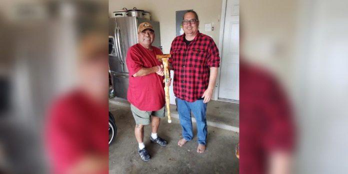 Veteran Jamie Willis Recycle Center donates Christmas trees to Canes