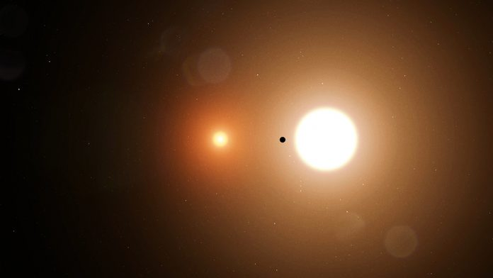 Wolf Cukier NASA: TESS Finds a Planet That Orbits Two Stars