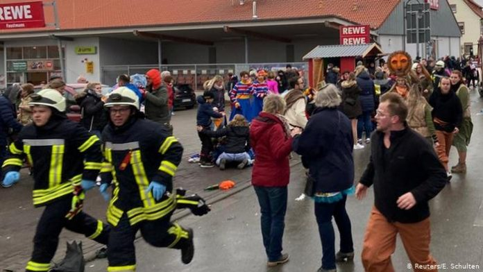 German Carnival Crash: Multiple Injuries Reported After Car Slams Into Crowd