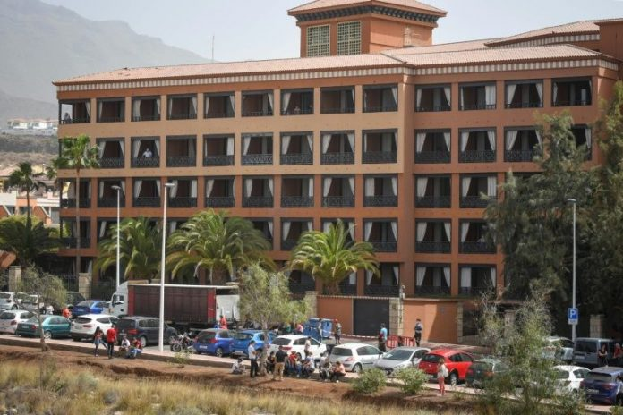 Tenerife hotel in lockdown over coronavirus, Report
