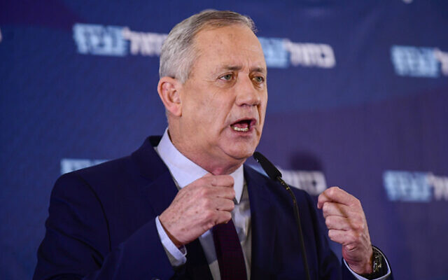Benny Gantz under increased security after life threats surface online