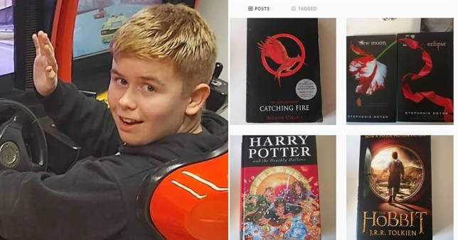 Callum Manning bullied for his love of books, Report