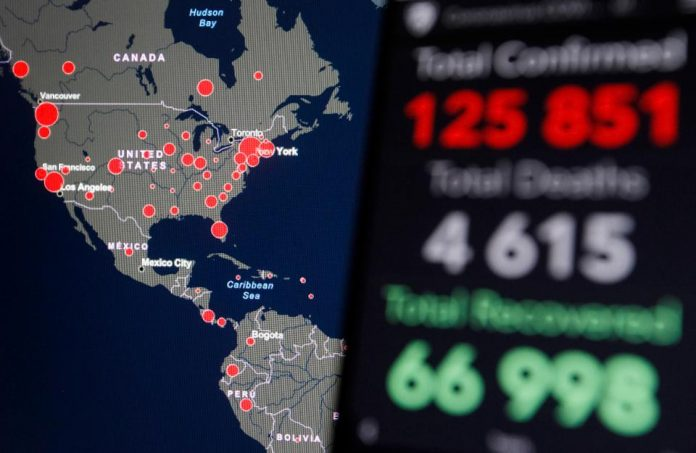Coronavirus Global: US COVID-19 cases surpass 50000