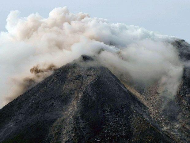 Indonesia's Mount Merapi Volcano Erupts, Report