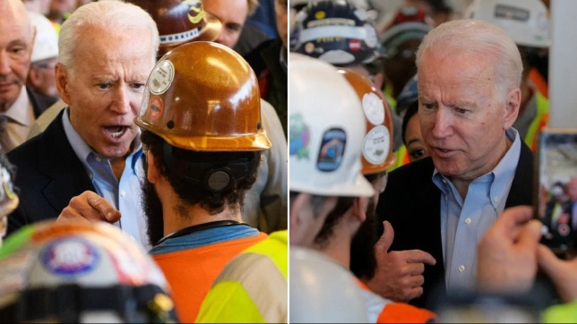 Joe Biden to Detroit Auto Worker: