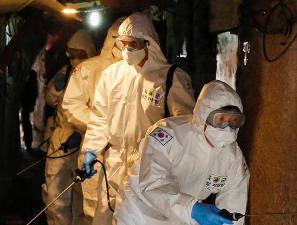 Kim Jong-un sends 'get well soon' wishes for South's coronavirus battle