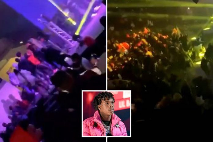 Lil Baby concert shooting: Person seriously injured