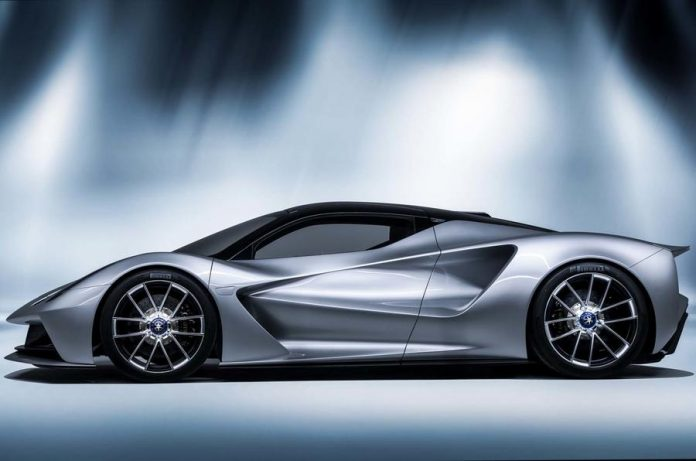 New Lotus hypercar Evija sold out for 2020