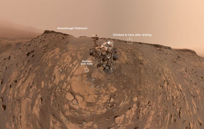 See Curiosity's epic new selfie from Mars, Report