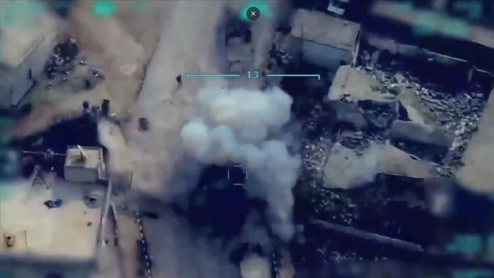 Turkey: Syrian targets being destroyed (Picture)